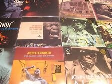 "JOHN LEE HOOKER SERVES YOU RIGHT COLLECTION 12"" + 45 SPEED & LIMITED 18 LP SET"
