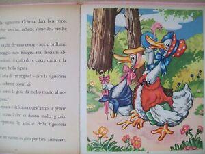 Fiaba vintage J. Colombini L'oca giuliva editrice Piccoli Mariapia