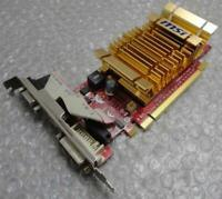 512mb MSI VN210-MD512H DDR3 VGA / DVI / TV PCIe Low Profile Graphics Video Card