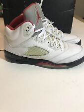 "Air Jordan 5 Retro ""Fire Red"" Sz - 7y"