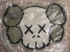 New OriginalFake KAWS X Gallery 1950 Companion Skull Grey Carpet Rug Authentic