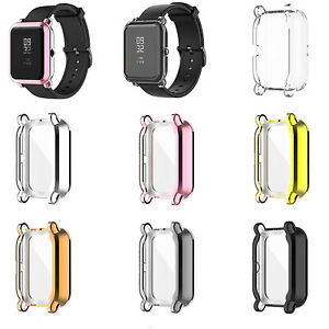 Electroplating TUP Watch Protective Case for Huami Amazfit GTS2 Mini/Pop Pro