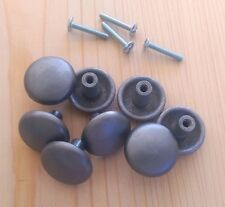 Drawer Pulls - Pewter Style Knobs (8 pieces)