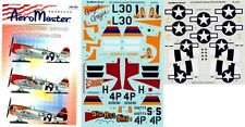 AEROMASTER 48-433 - DECALS 1/48 - 406 FIGHTER GROUP THUNDERBOLTS