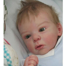 20 pollici Unborned Reborn Kit Awake Baby Doll con Testa in silicone morbido