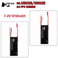 Hubsan X4 H502S/E RC Quadcopter Drone Replacement 2x 7.4V 610mAh BatteryH1 Local