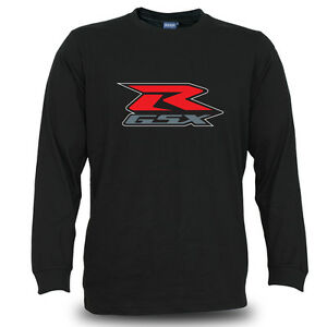 Genuine Suzuki R GSX Motorcycle Extreme Superbike Black Long Sleeve Men T-Shirt
