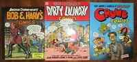 Robert Crumb Family Comics TPB Lot Dirty Laundry American Splendor Bob n Harv's