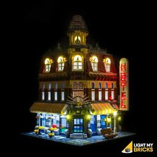 LIGHT MY BRICKS - LED Light Kit for LEGO Cafe Corner set 10182 Lego LED Light