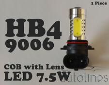1 x HB4 9006 7.5W LED COB Lens Headlight Xenon Super White Fog Lamp Globes Bulbs