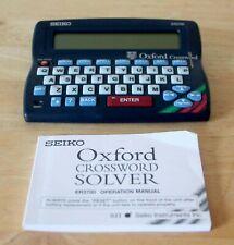 SEIKO ER3700 Oxford Crossword, Anagram Solver, Thesaurus, Spell Checker, Tested
