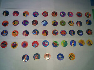 Disney's Pocahontas and Hanna-Barbera Tazos Pogs Lenticular (2 Collections)