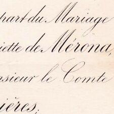 Henriette De Mérona Orgelet Jura 1881 Auguste D'Humieres