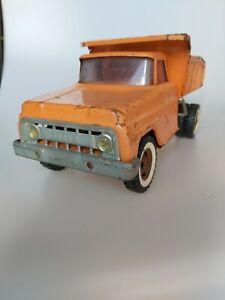 Modellauto LKW Ford F650 Tonka Toys USA Kipper Blech groß 50er Jahre Patina Rost