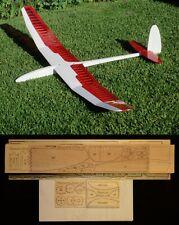 "79"" wing span Fineworx Miles 2M R/c Glider short kit/semi kit and plans"