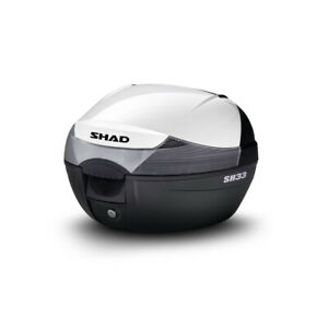 Cover Bauletto SHAD D1B33E208 BIANCO cover sh33 shad bianca