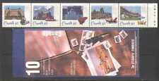 Canada 1993 Hotels/Trains/Rail/Horse/Piano/Music/Architecture 10v bklt (n27047)