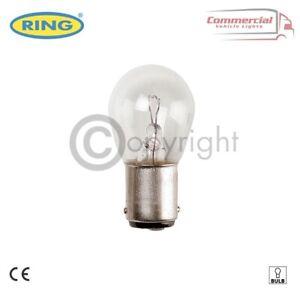 RING R382 P21W BA15S BRAKE STOP CAR LIGHT BULB 382 12V 21W