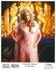 More details for xena warrior princess alexandra tydings hand signed pro photo autograph hercules