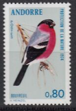 TIMBRE ANDORRE FRANCE NEUF  N° 241  *  OISEAUX  BOUVREUIL
