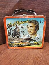 Vintage 74' Evel Knievel Metal Lunch Box- No Thermos