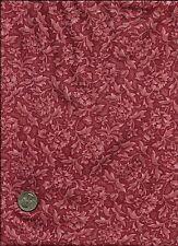 """Porcelain Rose"" Print lt & med rose on drk rose Fabric- Quilters Only - Springs"