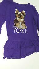 Faded Glory purple New Yorkie dress sz 8