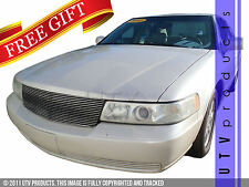 GTG 1998 - 2004 Cadillac Seville 1PC Replacement Polished Billet Grille Grill