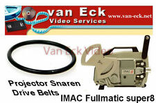 Imac Fullmatic super8 projector belt (motor)New belt, replacing your broken or