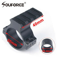 2 in 1 30mm/25.4mm Ring 20mm weaver Picatinny Rail Mount For Rifle Scope Sight