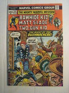 1974 Marvel Comic; Rawhide Kid; Matt Slade & Two-Gun Kid; Bushwackers; Mar. # 30
