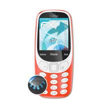 atFoliX 3x Proteggi Schermo per Nokia 3310 2017 chiaro&flessibile
