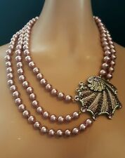 Heidi Daus Pearl Of The Sea Necklace  Ret: $259.95