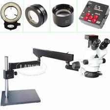 3.5-90X Simul-focal Trinocular Stereo Microscope 1080P HD HDMI Digital Camera AU