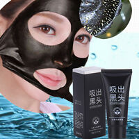 NEW Black Mud Deep Cleansing Acne Blackhead Remover Purifying Peel Off Face Mask