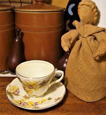 Rare Vintage Foley Floral Cup & Saucer - Pattern 2109 - Hand Finished - Superb