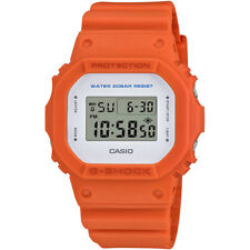 Casio G-Shock Men's DW5600M-4 Quartz Digital Square Orange Resin Case 43mm Watch