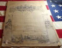 Original Civil War Military Register Co. I 200th Regiment Penn. Vol. Infantry!