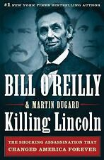 KILLING LINCOLN a Hardcover BOOK by Bill O'Reilly OReilly FREE SHIPPING Abraham