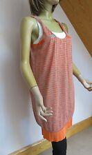 Missoni Orange Label Layered Dress Top