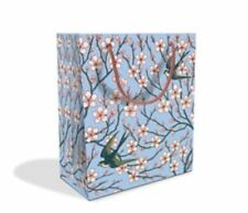 Almond Blossom Swallow Design Med Luxury Gift Bag with Gift Tag V&A Collection
