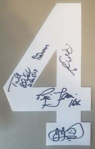 The 4 Horsemen signed Jersey #: Flair, Blanchard, Anderson, Windham & Dillon