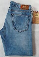 Mens True Religion Geno Slim Leg Selvedge Denim Jeans W33 L29 BNWT RRP £180