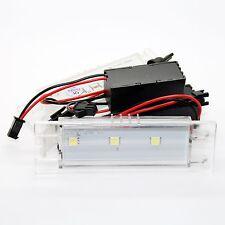 2x Opel LED SMD Kennzeichenbeleuchtung Module Leuchten Birnen - Set Kennzeichen