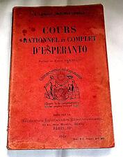 COURS rationnel & complet d'ESPERANTO - 1921