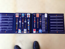 Swatch oeiginal 1st edition Historical Olympic Games Collection - 9 Watches