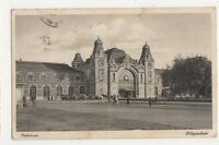 Hungary, Debrecen Palyaudvar, Railway Station Postcard, B408
