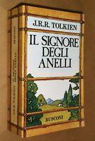 IL SIGNORE DEGLI ANELLI - J.R.R. TOLKIEN - CON MAPPA - 1993