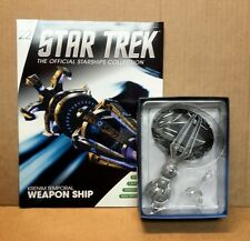 Star Trek Eaglemoss Krenim Temporal Weapon Ship & magazine #22