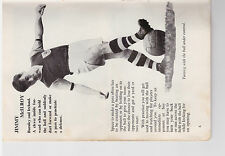 Player Pic from 1961 Football booklet - BURNLEY - McIlroy